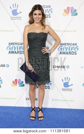 Jamie-Lynn Sigler at the 2nd Annual American Giving Awards held at the Pasadena Civic Auditorium in Los Angeles, United States, 071212.