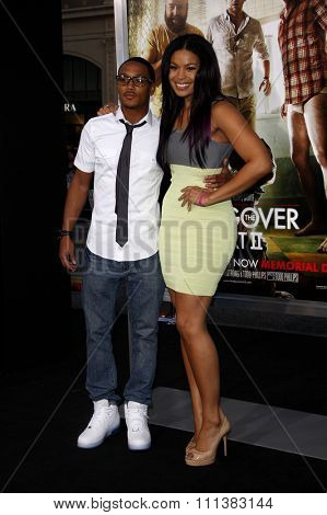 Romeo and Jordin Sparks at the Los Angeles Premiere of