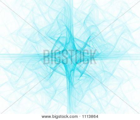 Blue Liturgical Cross