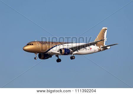 Gulf Air Airbus A320