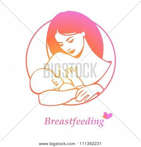Breast feeding logo