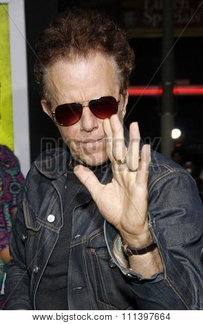 Tom Waits at the Los Angeles premiere of