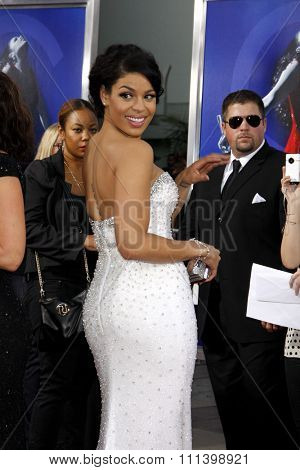 Jordin Sparks at the Los Angeles premiere of