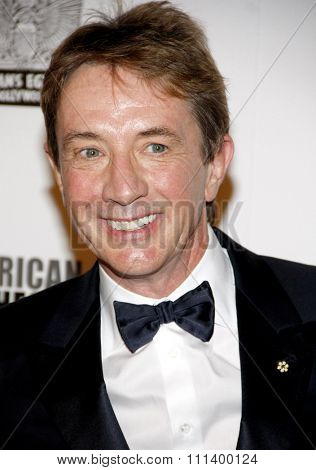 Martin Short at the 26th American Cinematheque Award Honoring Ben Stiller held at the Beverly Hilton Hotel in Los Angeles, California, United States on November 15, 2012.