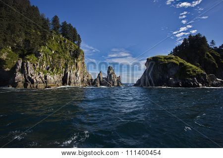 Appealing Perspective Of Kenai Fjords National Park