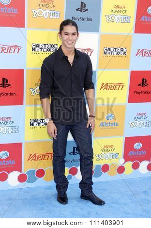 Booboo Stewart at the Variety's 6th Annual Power Of Youth held at the Paramount Studios in Los Angeles, California, United States on September 15, 2012.