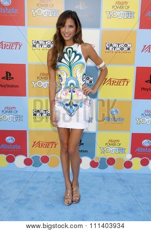 Kelsey Chow at the Variety's 6th Annual Power Of Youth held at the Paramount Studios in Los Angeles, California, United States on September 15, 2012.