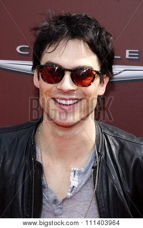 WEST HOLLYWOOD, CALIFORNIA - Sunday March 11, 2012. Ian Somerhalder at the John Varvatos 9th Annual Stuart House Benefit held at the John Varvatos Boutique, Los Angeles.