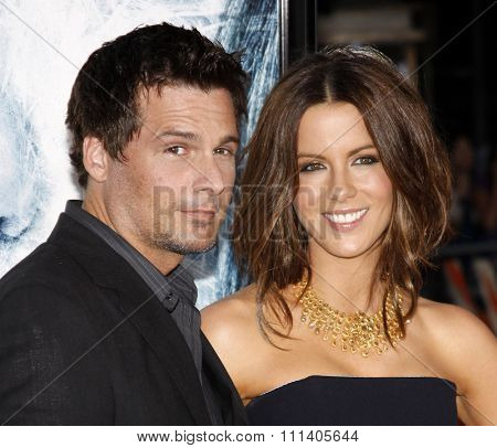 09/09/2009 - Westwood - Kate Beckinsale and Len Wiseman at the Los Angeles Premiere of