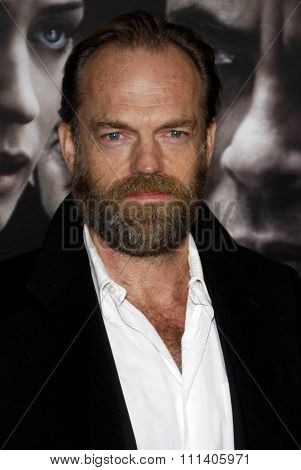09/02/2010 - Hollywood - Hugo Weaving at the American Premiere of