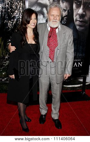 Anthony Hopkins at the American Premiere of