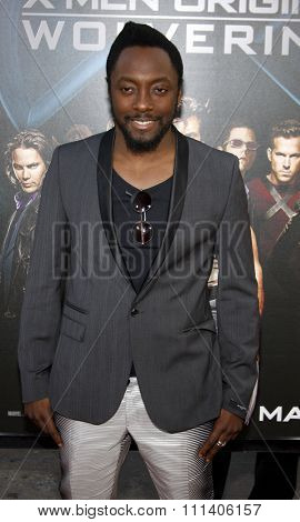 Will.i.am of Black Eyed Peas at the Los Angeles Premiere of