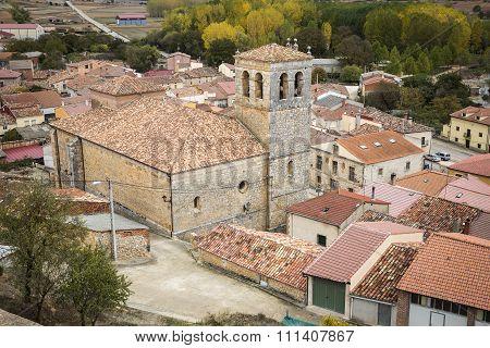 Coruña del Conde village, Burgos, Spain