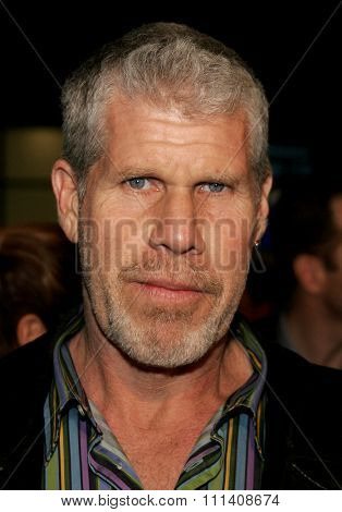 Ron Perlman attends the Los Angeles Premiere of