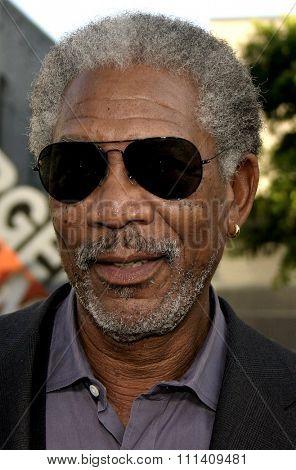 Morgan Freeman attends the Los Angeles Premiere of