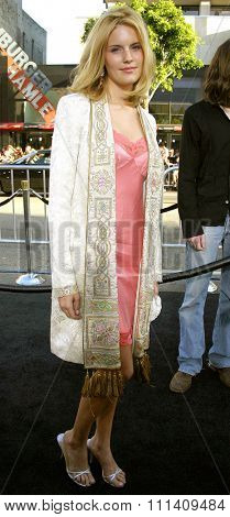 Maggie Grace attends the Los Angeles Premiere of