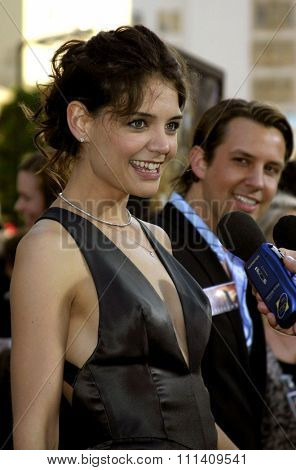 Katie Holmes attends the Los Angeles Premiere of