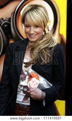 Ashley Tisdale attends the World Premiere of