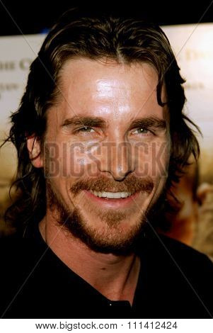 Christian Bale attends the Los Angeles Premiere of