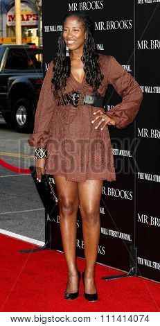 May 22, 2007. Shondrella Avery attends the Los Angeles Premiere of