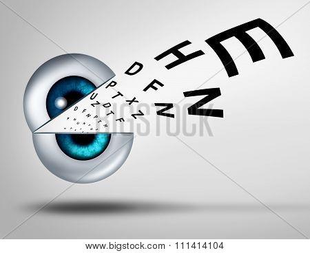 Eye Vision Concept
