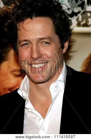 Hugh Grant attends the Los Angeles Premiere of