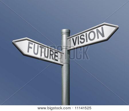 Roadsign Future Vision