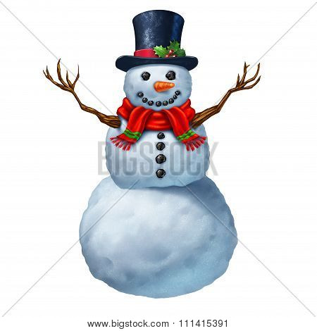 Snowman Character
