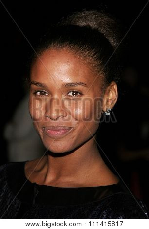 Joy Bryant attends the 2007 Paramount Pictures Golden Globe Award After-Party held at the Beverly Hilton Hotel in Beverly Hills, California, on January 15, 2007.
