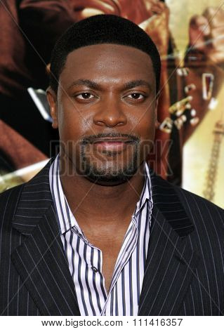 Chris Tucker attends the Los Angeles Premiere of