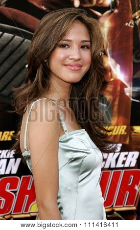 Kelsey Chow attends the Los Angeles Premiere of