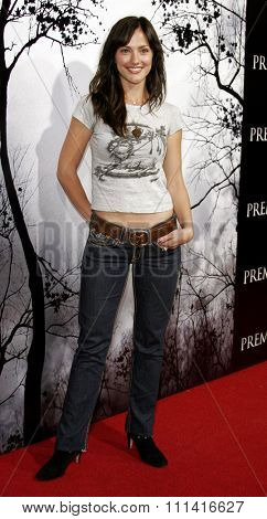 Minka Kelly attends the Los Angeles Premiere of