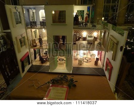 Fully Furnished Dolls House