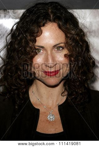 Minnie Driver and attends