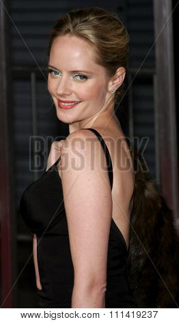 Marley Shelton attends the Los Angeles Premiere of