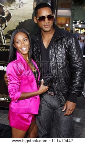 Will Smith and Jada Pinkett Smith attend the Los Angeles Premiere of