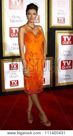 Adrianna Curry attends the 5th Annual TV Guide's Emmy Awards Afterparty held at the Les Deux in Hollywood, California, United States on September 16, 2007.