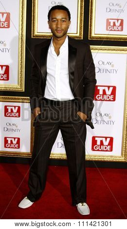 John Legend attends the 5th Annual TV Guide's Emmy Awards Afterparty held at the Les Deux in Hollywood, California, United States on September 16, 2007.