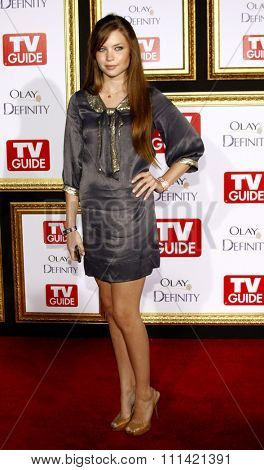 Daveigh Chase attends the 5th Annual TV Guide's Emmy Awards Afterparty held at the Les Deux in Hollywood, California, United States on September 16, 2007.