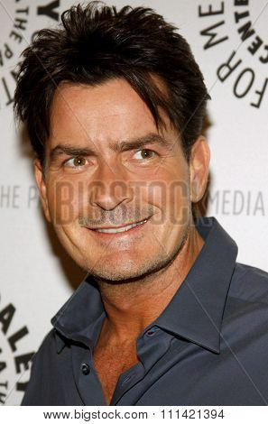 Charlie Sheen attends the