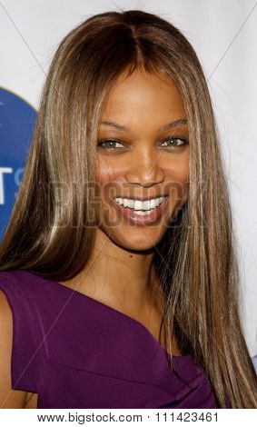 Tyra Banks at the HRTS'