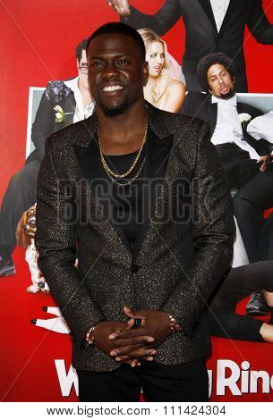 Kevin Hart at the Los Angeles premiere of 'The Wedding Ringer' held at the TCL Chinese Theatre in Los Angeles on Tuesday January 6, 2015.