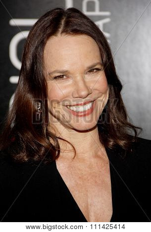 Barbara Hershey at the Los Angeles premiere of