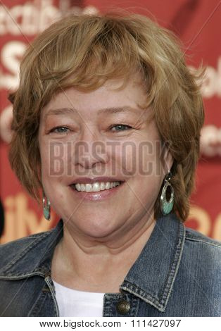 Kathy Bates at the Los Angeles premiere of