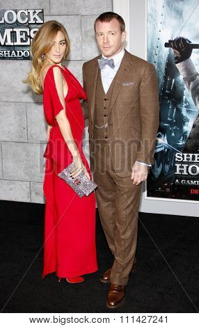 December 6, 2011. Guy Ritchie and Jacqui Ainsley at the Los Angeles premiere of