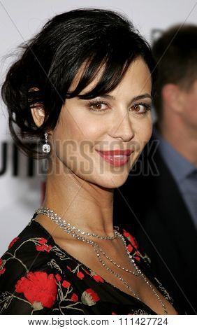 December 7, 2006. Catherine Bell attends the Los Angeles Premiere of