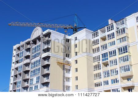 Construction Of Multistorey Modern House