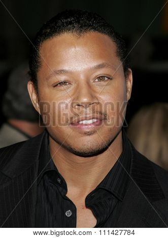 December 7, 2006. Terrence Howard attends the Los Angeles Premiere of
