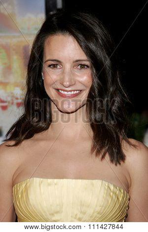 November 12, 2006. Kristin Davis attends the World Premiere of