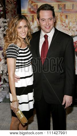 November 12, 2006. Sarah Jessica Parker and Matthew Broderick attend the World Premiere of